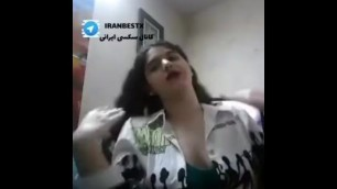خودارضایی دختر تپل ایرانی در دو قسمت - قسمت اول Telegram @iranbestx