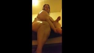 Laney Lush Rubs Lotion on her Body