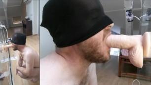 Superb Multiple Ass to Mouth - Amateur Straight Guy Deep Ass Fuck Dildo