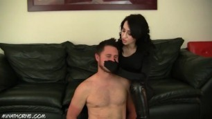 Hitwoman Handsmother with Satin Gloves