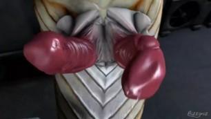 Double Dicked Futa Space Snake Face Fucks you