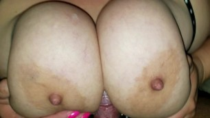 38DDD Pale and Veiny Tit Fuck