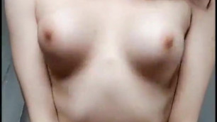 Big nipples striptease