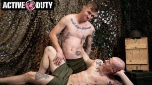 ActiveDuty - Soldier Ryan Jordan Gets Deep In Niko Carr