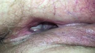 Milf pussy close up gape deep inside open wide milf holes